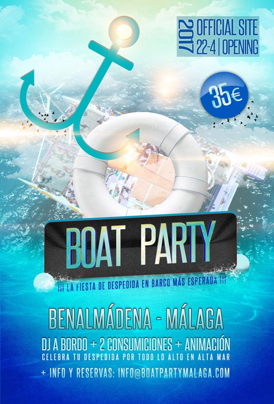FLYER BOAT PARTY